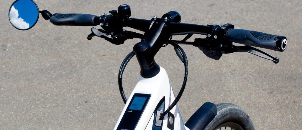 ongeluk botsing e-bike en fietser