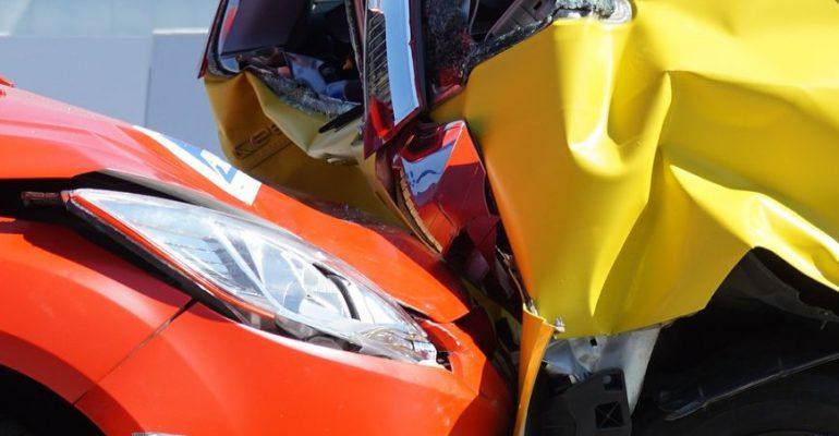 Auto ongeluk in Eindhoven